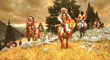 Children of the Raven 1985 Limited Edition Print - Frank McCarthy
