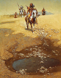 Comanche War Trail 1985 Limited Edition Print - Frank McCarthy