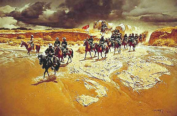 Distant Thunder 1979 Limited Edition Print - Frank McCarthy