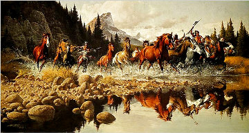 Returning Raiders 1974 Limited Edition Print - Frank McCarthy