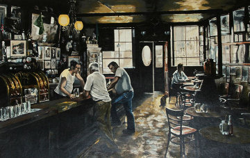 Mcsorley's Old Ale House AP 1981 Limited Edition Print - Harry McCormick