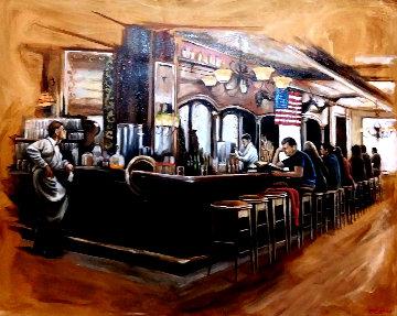 Untitled 1960 58x52 Original Painting - Harry McCormick