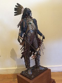Trophies of Honor Bronze Sculpture 1995 30 in  Sculpture - Dave McGary