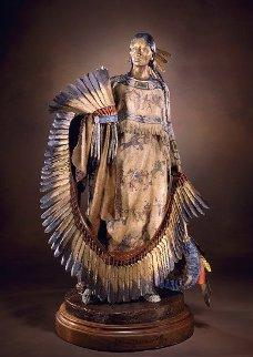 Honor Dress Bronze Sculpture 20 in Sculpture - Dave McGary