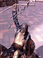 Birth of Long Soldier  Masterwork Edition Bronze Sculpture 24 in Sculpture by Dave McGary - 13