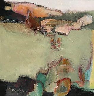 Near Holbrook 2016 26x26 Original Painting - Peggy McGivern