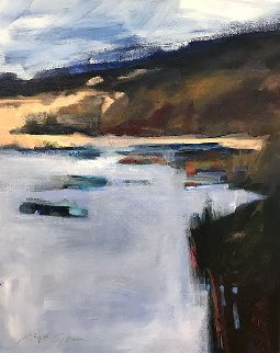 Autumn 2017 17x14 Original Painting - Peggy McGivern