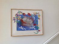 Drowned Ophelia 1992 36x44  Works on Paper (not prints) by DeLoss McGraw - 1