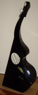 Bass Guitar Resin Sculpture 1995 Sculpture - Rick Mcintyre