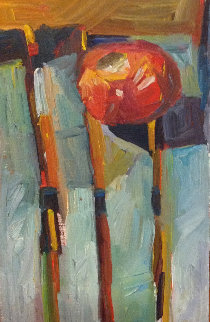 Untitled Painting 12x8 Original Painting - Beverly McIver