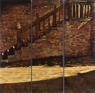 Stones of Venice 2005 72x72 Original Painting - Madeleine McKay