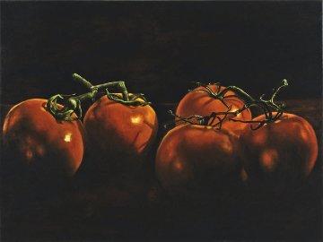 Lycopene  2010 33x43 Original Painting - Madeleine McKay
