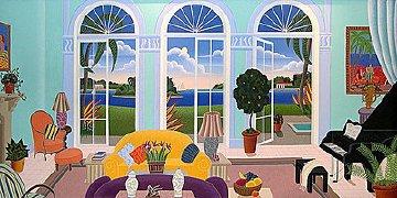 Palm Island 1990 Limited Edition Print by Thomas Frederick McKnight