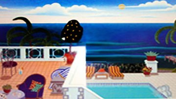 Poolside 1992 Limited Edition Print - Thomas Frederick McKnight