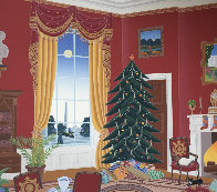 White House Red Room At Christmas 1985 Limited Edition Print by Thomas Frederick McKnight - 0