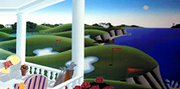 An Unexpected Hazard on the Ninth Green 1990 Limited Edition Print - Thomas Frederick McKnight