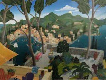 Portofino, Italy 2006 Limited Edition Print - Thomas Frederick McKnight