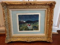 Schloss Remseck 1980 Limited Edition Print by Thomas Frederick McKnight - 1
