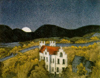 Schloss Remseck 1980 Limited Edition Print by Thomas Frederick McKnight - 0