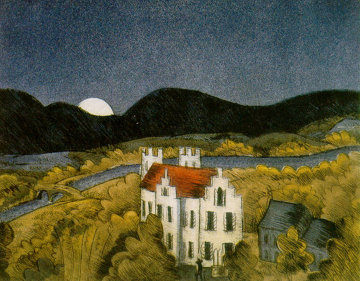 Schloss Remseck 1980 Limited Edition Print - Thomas Frederick McKnight