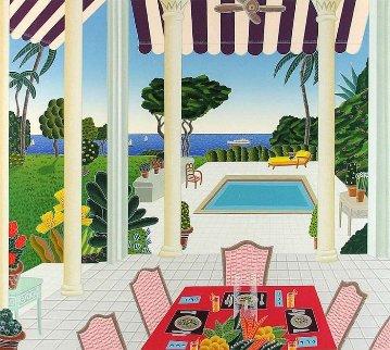 Villa Diana 1991 Limited Edition Print - Thomas Frederick McKnight