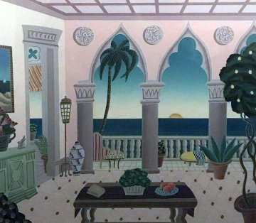 Villa Laguna 1991 Limited Edition Print - Thomas Frederick McKnight