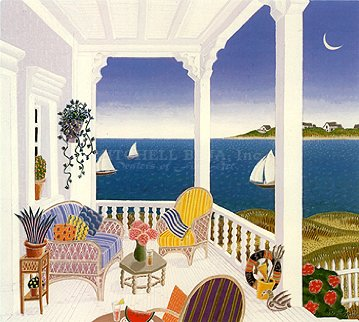 Martha's Vineyard  1991 Limited Edition Print - Thomas Frederick McKnight