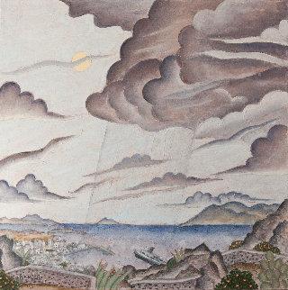 Storm Over Mykonos 2011 24x24 Original Painting by Thomas Frederick McKnight