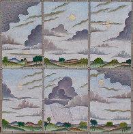 Cloud Variations 2010 36x36 Original Painting by Thomas Frederick McKnight - 0