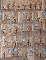 Amphora Variations 2011 36x36 Original Painting by Thomas Frederick McKnight - 0