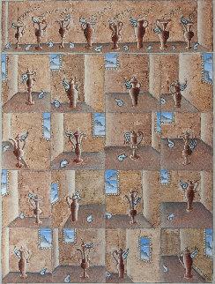 Amphora Variations 2011 36x36 Original Painting by Thomas Frederick McKnight