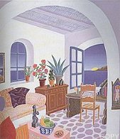 Return to Mykonos Suite of 8 1990 Limited Edition Print by Thomas Frederick McKnight - 0
