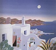 Return to Mykonos Suite of 8 1990 Limited Edition Print by Thomas Frederick McKnight - 1