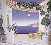 Return to Mykonos Suite of 8 1990 Limited Edition Print by Thomas Frederick McKnight - 2