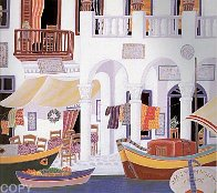 Return to Mykonos Suite of 8 1990 Limited Edition Print by Thomas Frederick McKnight - 4