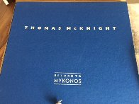 Return to Mykonos Suite of 8 1990 Limited Edition Print by Thomas Frederick McKnight - 7