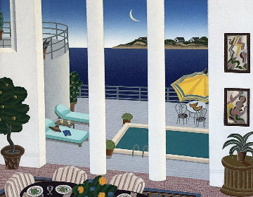 4 Seas Suite of 4 - Atlantic Pool, Pacific Pool, Caribbean Pool, Gulf Pool 1991 Limited Edition Print - Thomas Frederick McKnight