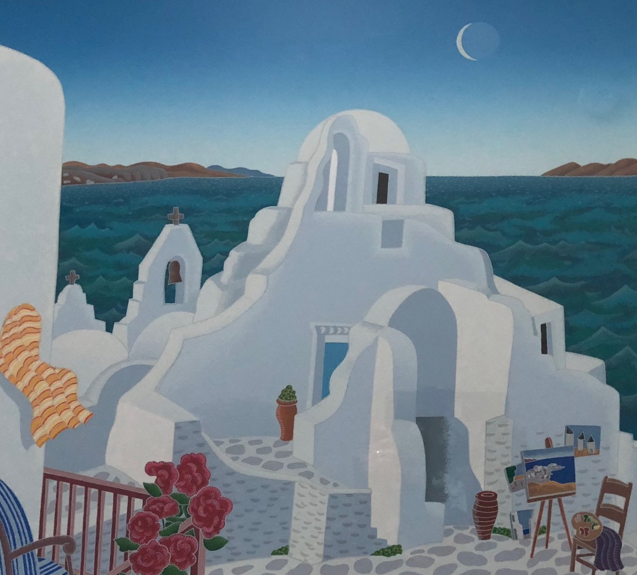 Paraportiani 1989 Limited Edition Print by Thomas Frederick McKnight
