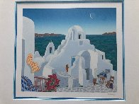 Paraportiani 1989 Limited Edition Print by Thomas Frederick McKnight - 3