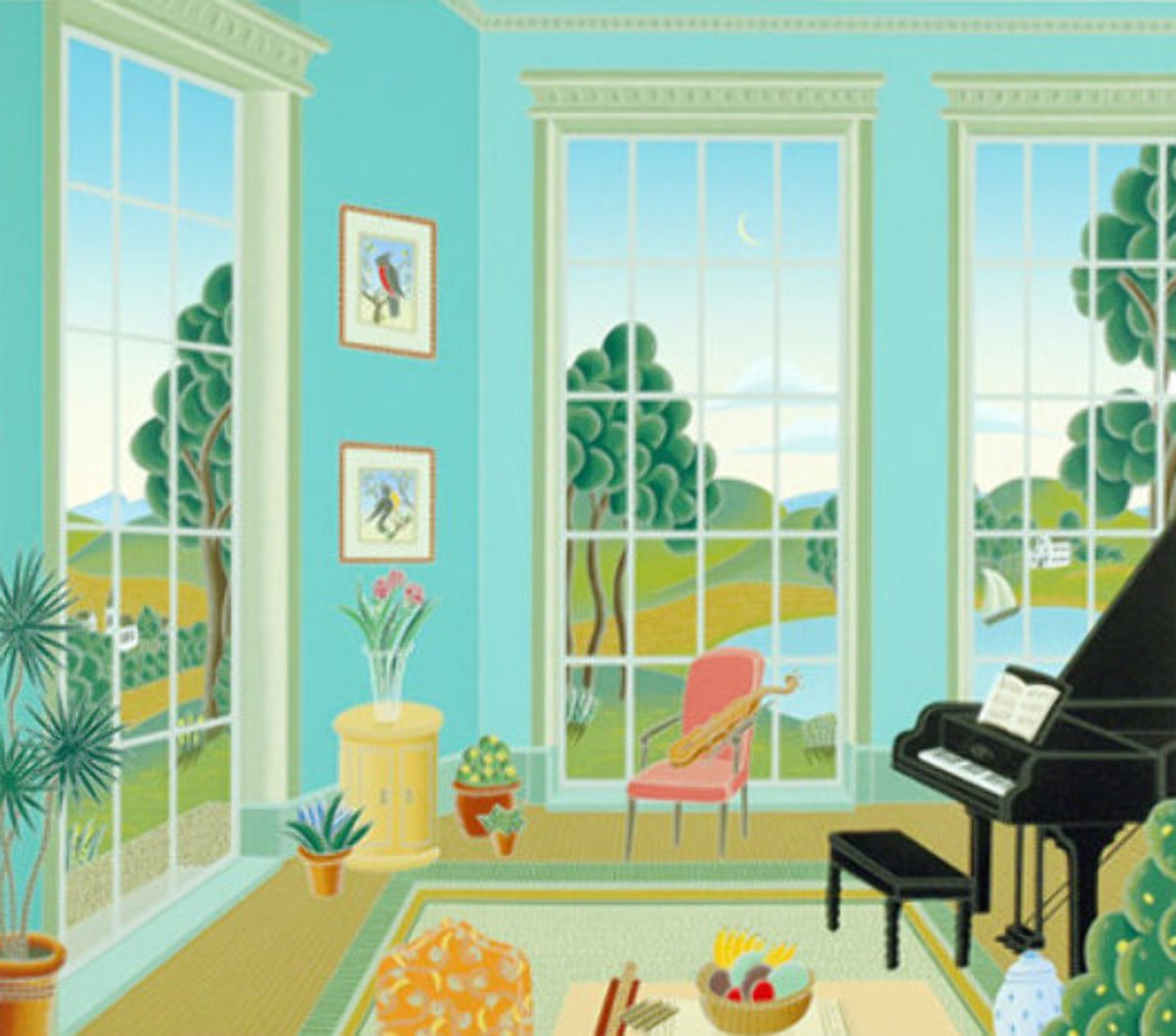 Stockbridge 1999 Huge Limited Edition Print by Thomas Frederick McKnight