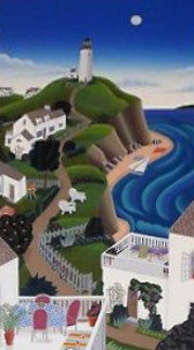 Nantucket Lighthouse  Huge Limited Edition Print - Thomas Frederick McKnight
