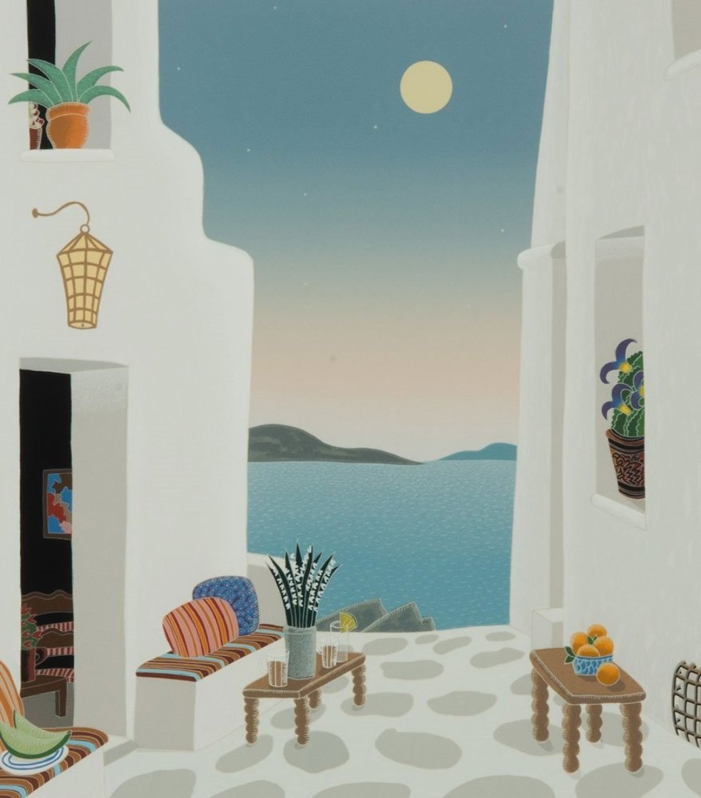 Kastro From Mykonos II Suite 1986 Limited Edition Print by Thomas Frederick McKnight