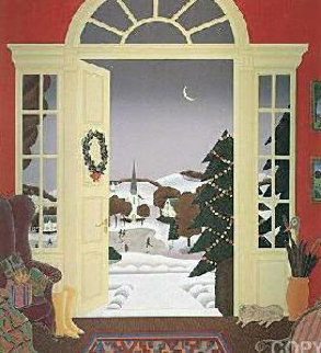 Christmas Eve Limited Edition Print - Thomas Frederick McKnight
