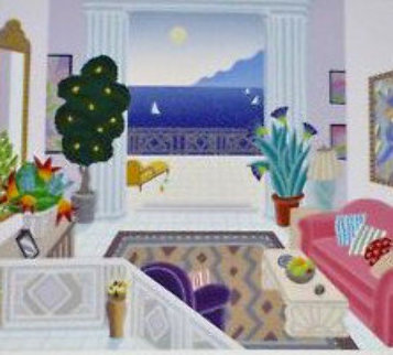 Daydreams - California Salon 1991 Limited Edition Print - Thomas Frederick McKnight