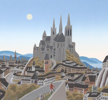 Citadel 1980 Limited Edition Print - Thomas Frederick McKnight
