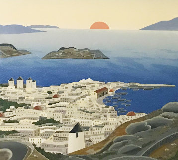 Mykonos  1984 Limited Edition Print - Thomas Frederick McKnight