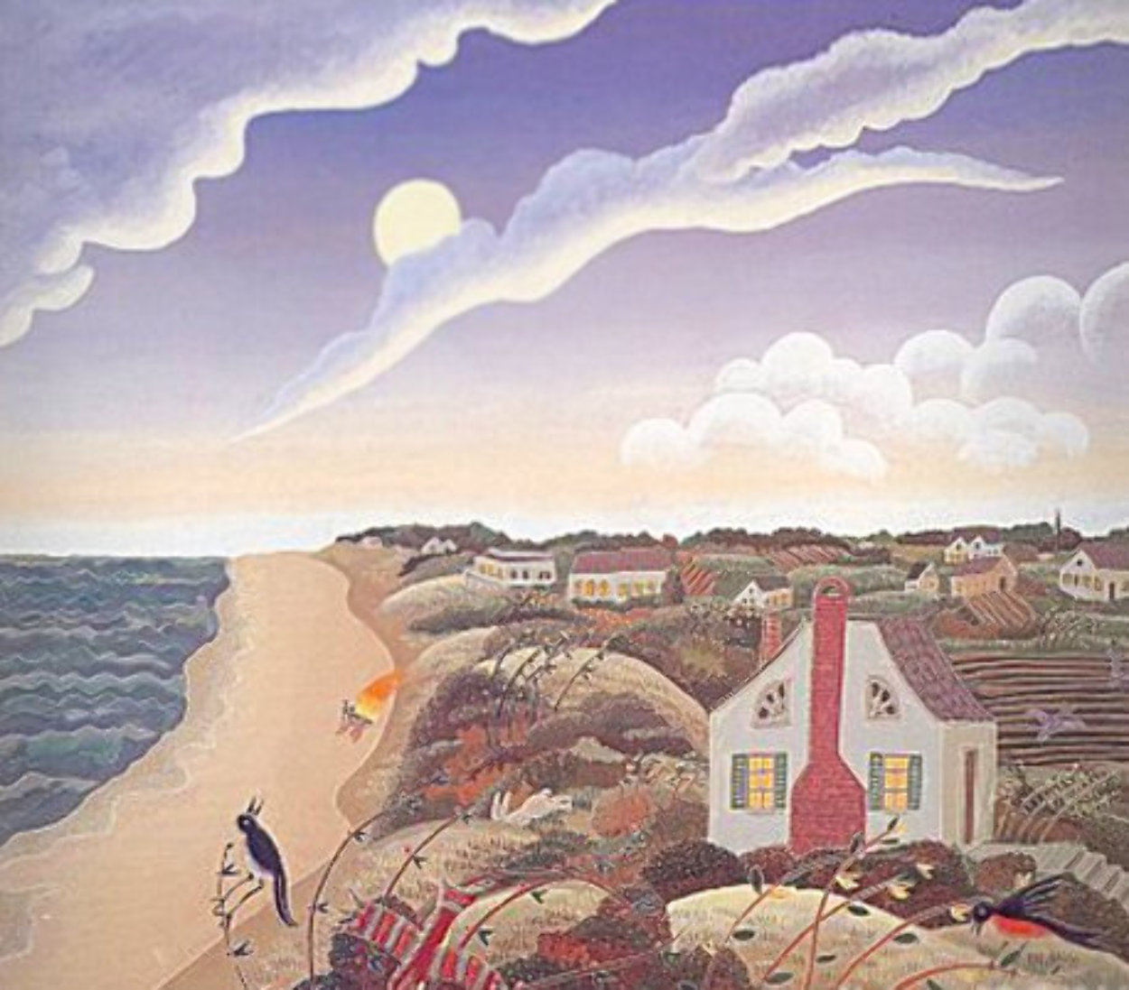 Amagansett 1987 Limited Edition Print by Thomas Frederick McKnight