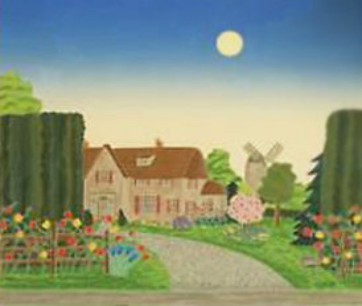 Maidstone 1987 Limited Edition Print by Thomas Frederick McKnight
