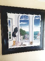 Nantucket Porch With Captain's Jacket AP 1991 Limited Edition Print by Thomas Frederick McKnight - 1