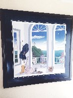 Nantucket Porch With Captain's Jacket AP 1991 Limited Edition Print by Thomas Frederick McKnight - 2